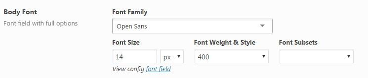 font-body